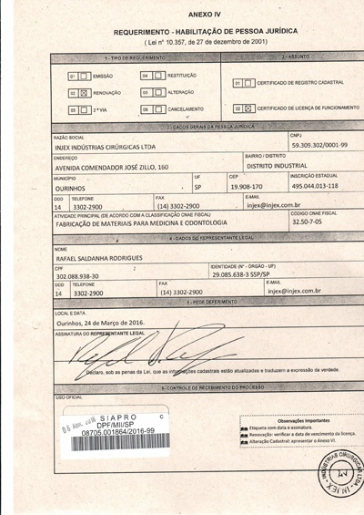 Licencia Policía Federal (Protocolo de Renovación)