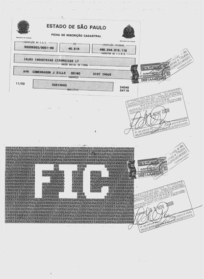 Ficha de Inscripción Catastral
